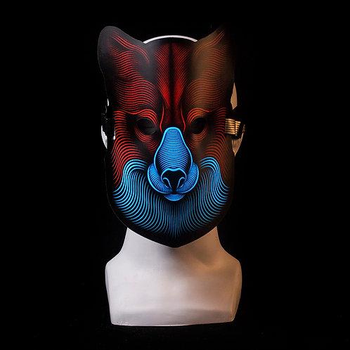 Fox LED mask Music Reactive