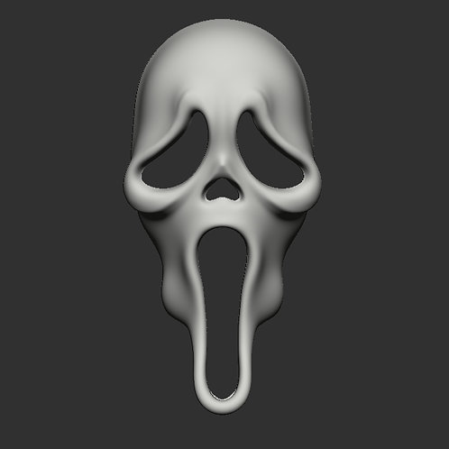 Scream Mask 3D Printable