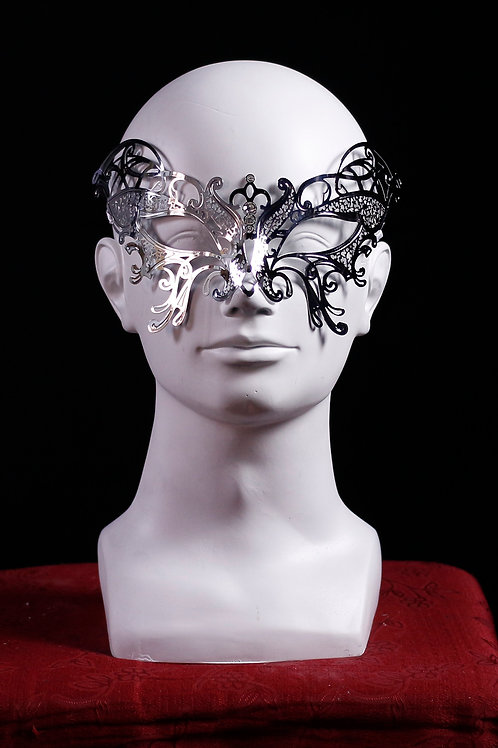 Venetian half mask BUTTERFLY