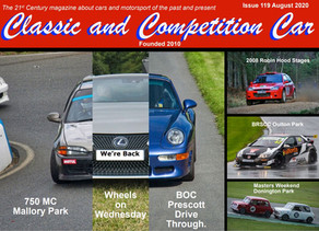 Classic & Competition Car features Prescott Drive Thru Events