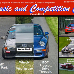 Classic & Competition Car features Prescott Drive Thru Events