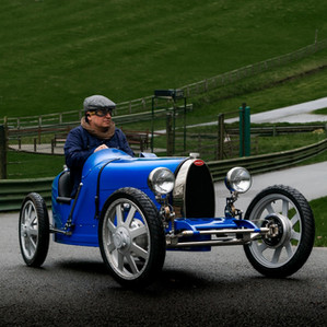 The Little Car Company's Bugatti Baby II gets the Bugatti Owners' Club stamp of approval