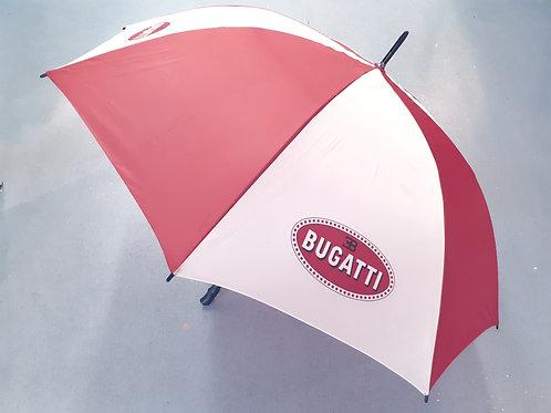 Umbrella with Bugatti logo