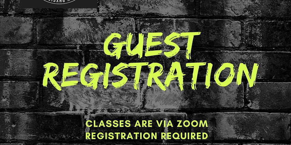 Guest Registration ONLY