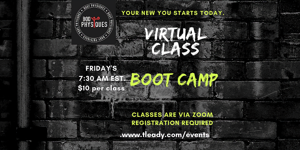 BOOT CAMP 10.9.20