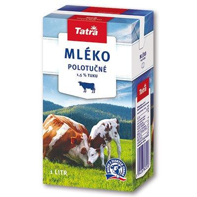 Mléko Tatra 1,5% 1l