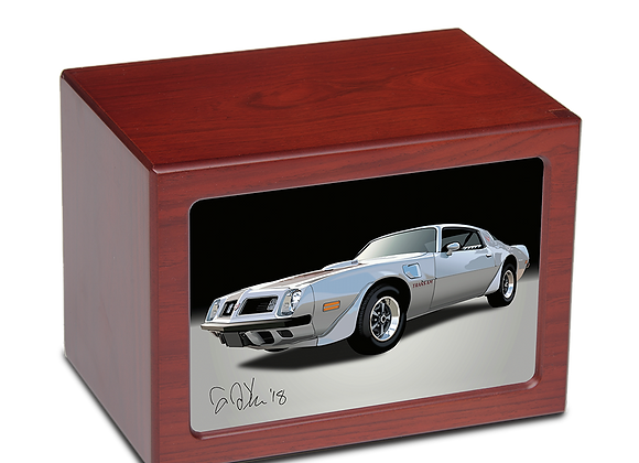Classic Cars – Photo Frame Urn – Cherry