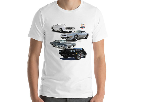 Short-Sleeve Unisex T-Shirt- Pontiac