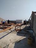 execuçãode telhado