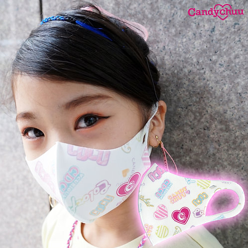 Candychuu 総柄マスク (200551)