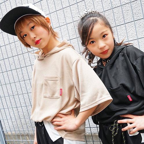 ASIANZ HEAD2 裾配色パーカー