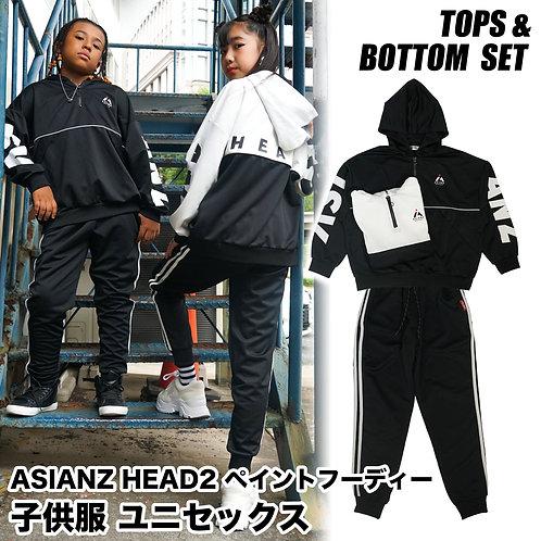 ASIANZ HEAD2 ハーフZIPジャージ セットアップ