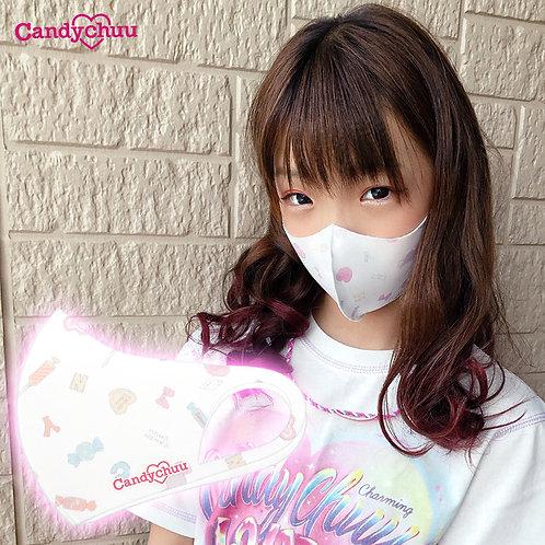 Candychuu 総柄 ロゴ マスク (20055202)