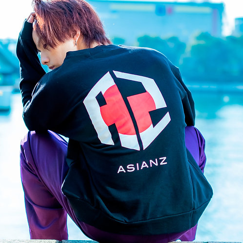 ASIANZ FLAG LOGO トレーナー