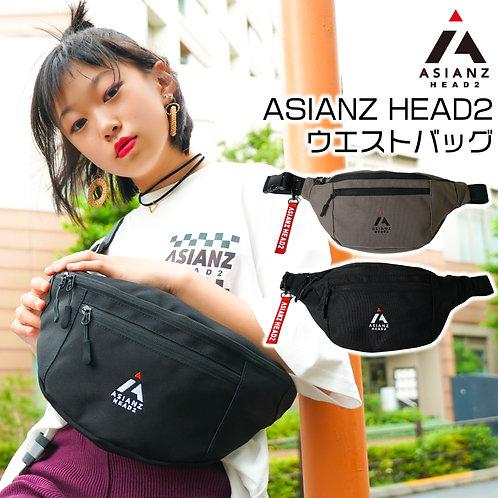 ASIANZ HEAD2 ウエストバッグ