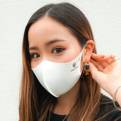 ASIANZ LOGOスポーツ クール マスク(ホワイト)