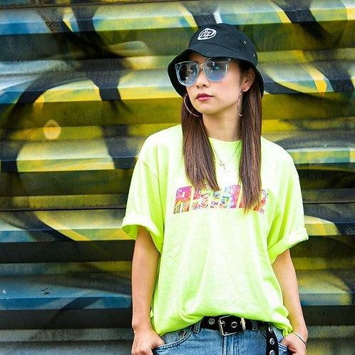 ASIANZタイダイロゴプリントTシャツ