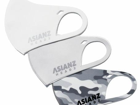 ASIANZ HEAD2から接触冷感生地のクールマスクが入荷!!!