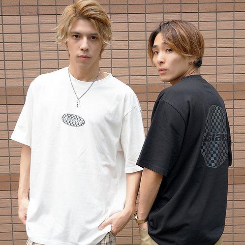 ASIANZ リフレクターロゴ T-シャツ