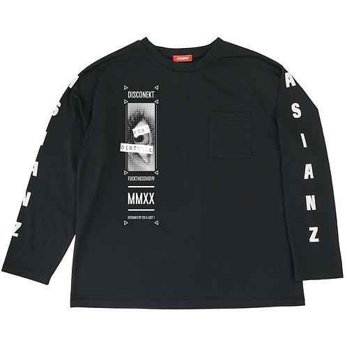 ASIANZ × DISCONEKT ロングスリーブ T-シャツ (受注商品)
