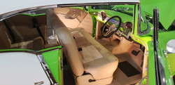 55 Chevy Coupe Full Custom Build - inter