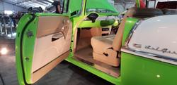 55 Chevy Coupe Full Custom Build - door