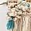 Thumbnail: 'shipwreck' wall hanging with handspun art yarn