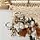 Thumbnail: little 'wild' wall hanging with handspun art yarn