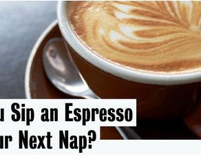 Should You Sip an Espresso Before Your Next Nap? - Van Winkle's