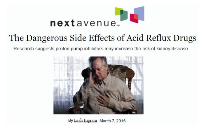 The Dangerous Side Effects of Acid Reflux Drugs