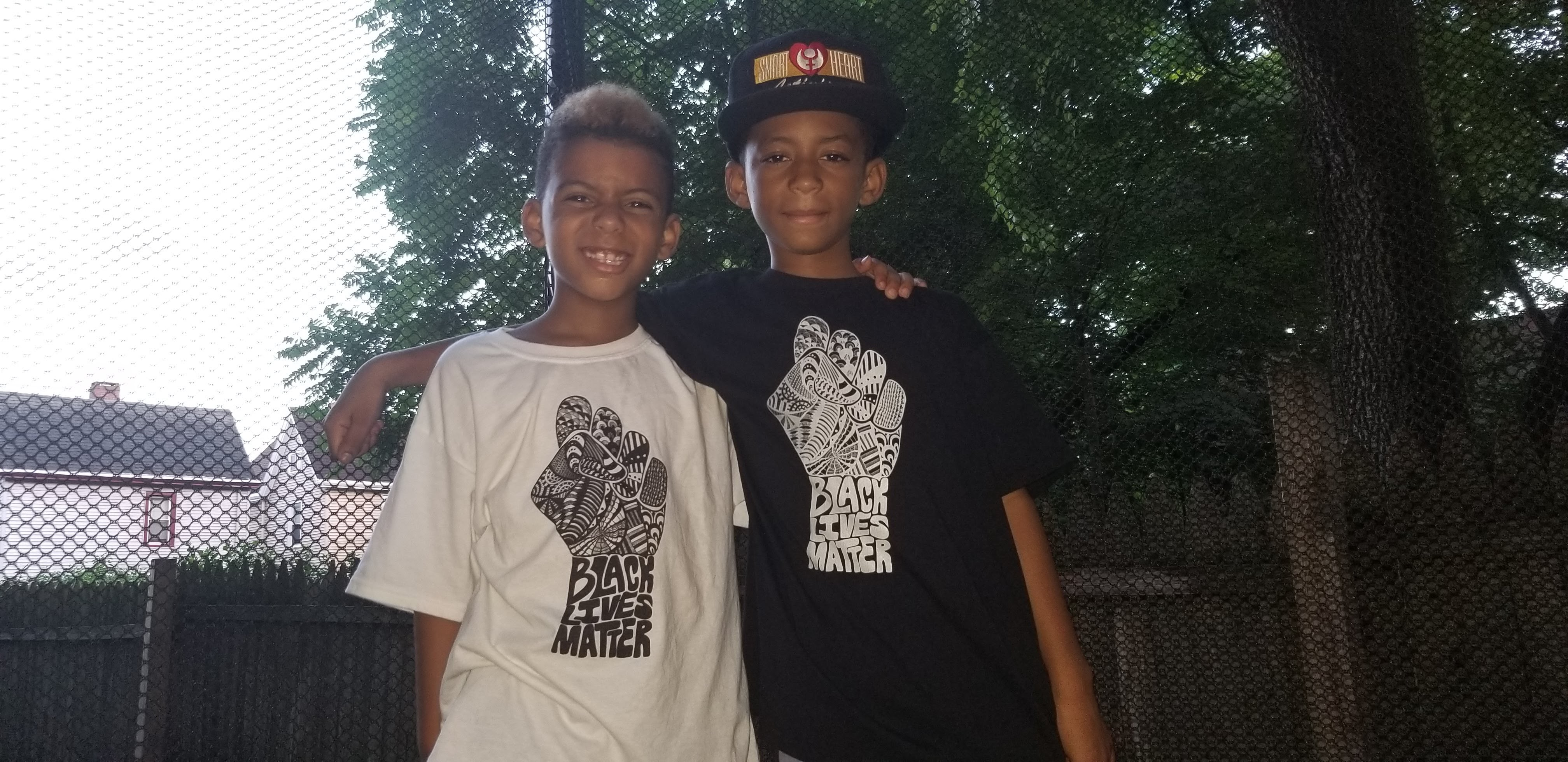Black Lives Matter Kids Shirts