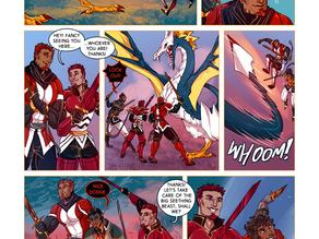 SWORD KINGS #1 page 26