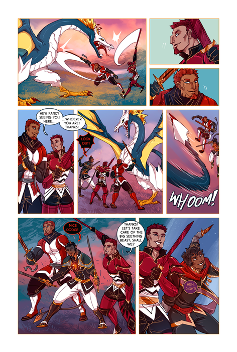 SWORD KINGS #1 page 26