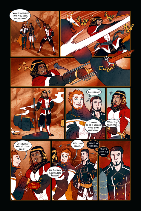 KNIGHT OF ALANOC page 5