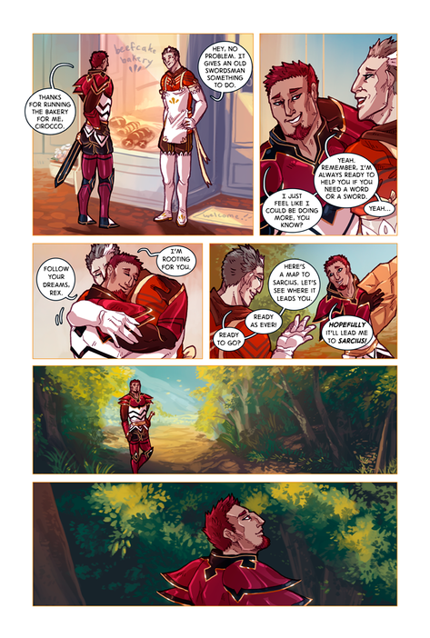 SWORD KINGS #1 page 7