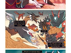 MEN PLUS MONSTERS Origins page 4
