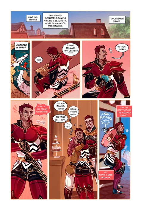 SWORD KINGS #1 page 1