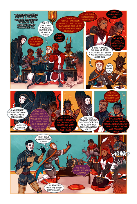 SWORD KINGS #1 page 22
