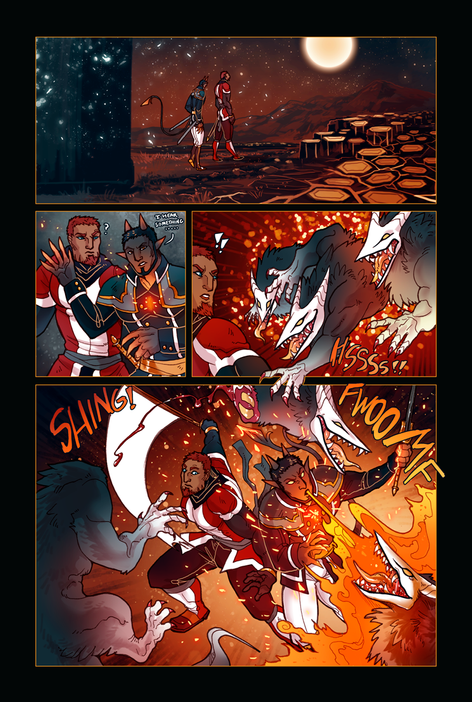 ACE OF BEASTS #1 page 10