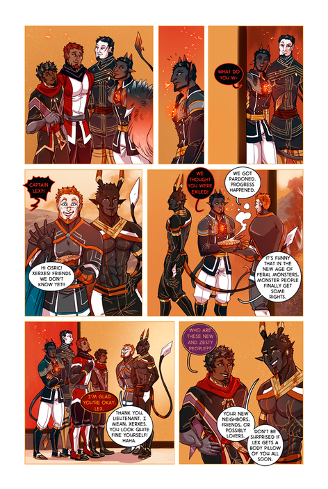 SWORD KINGS #1 page 20