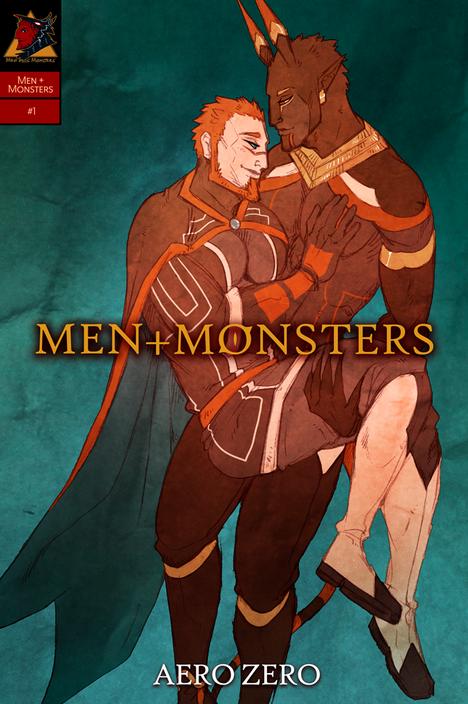 MEN+MONSTERS #1 cover