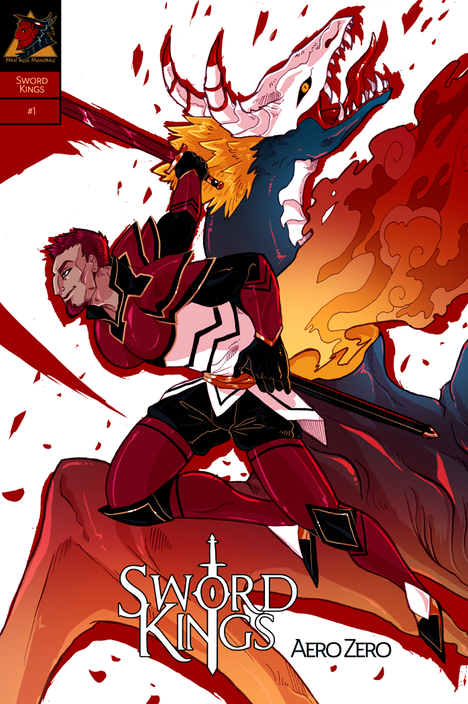 SWORD KINGS #1 cover