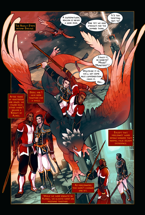 ACE OF BEASTS #1 page 4