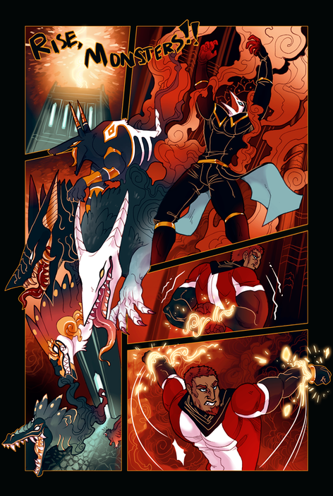 ACE OF BEASTS #1 page 8