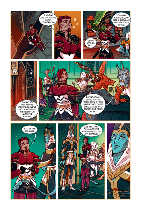 SWORD KINGS #1 page 10