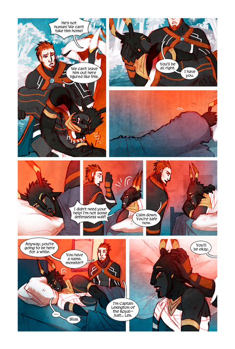 MEN+MONSTERS #1 page 2