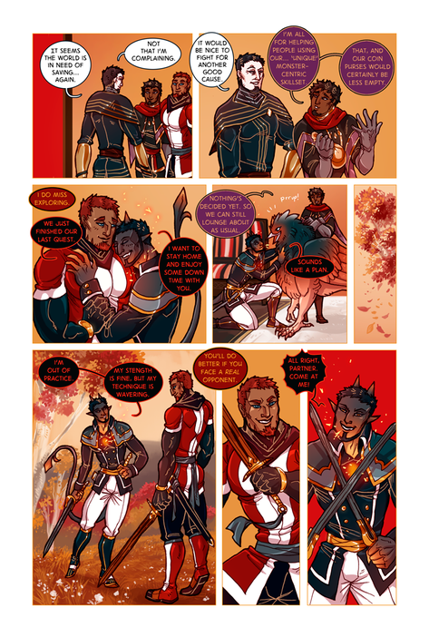SWORD KINGS #1 page 15