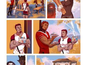 SWORD KINGS #1 page 34