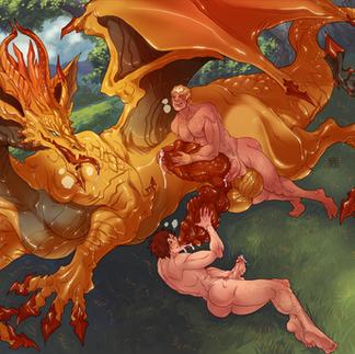Adonis x Raven x Golden Dragon