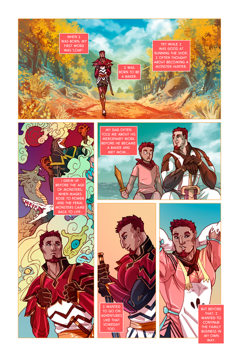 SWORD KINGS #1 page 2
